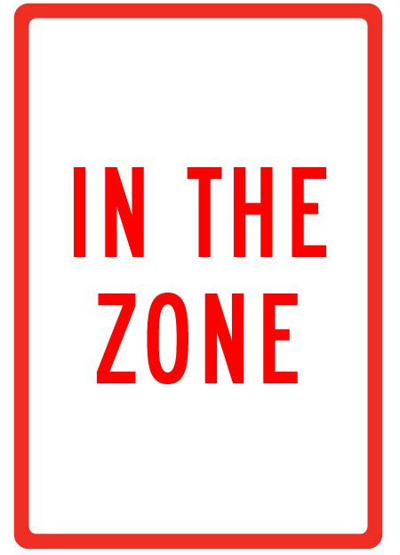 Agile in the Zone